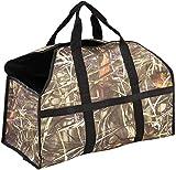 Lveal Firewood Log Carrier Tote Bag Large Wood Carrying Bag Fireplace Log Holder