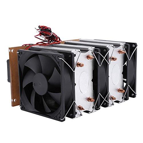 Pelador de refrigeración semiconductor 12 V 15 A termoeléctrico para uso doméstico para la producción industrial para pequeños aire acondicionado.