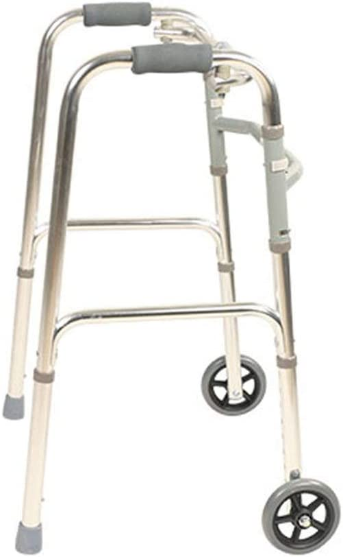 Walkers for seniors Rollator Walker Roll High quality new Seniors Gorgeous Foldable Adult