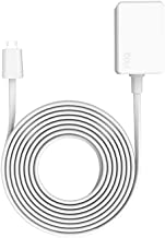 10ft Power Adapter for Ring Indoor Cam, White