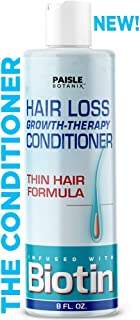 Biotin Conditioner Hair Loss Treatment For Hair Growth NATURAL Thickening Fine Thin Hair Volumizing Deep Conditioner For Regrowth With Protein + Keratin Sulfate Free Color Treated Hair For Men & Women