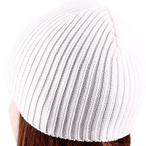 Helio Ferretti HF Bonnet Que phosphorescentes en Noir, Coton, Blanc, 30 x 21 x 0.5 cm