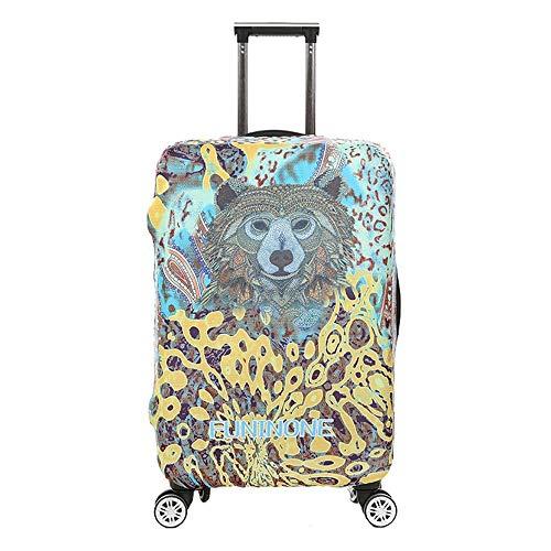 KYEEY Cubiertas Protectoras de Equipaje 18-32 Pulgadas 3D Animal Print Travel Luggage Cover Protector de Maleta elástica a Prueba de Lluvia for Viajes Funda de Equipaje Maleta Trave Protector
