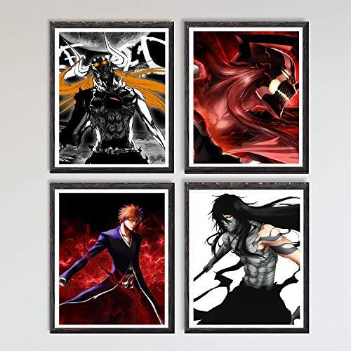 Póster, ilustración de manga, impresión artística de pared, 20,32x25,4cm, sin marco, disponibles diseños de las series de anime Naruto Shippuden, Goblin Slayer, Hunter Tokyo Ghoul y One Punch-Man
