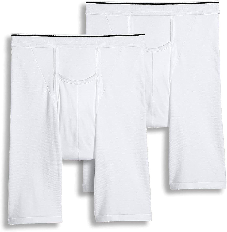 Jockey Men's Underwear Pouch Midway Brief - 2 Pack