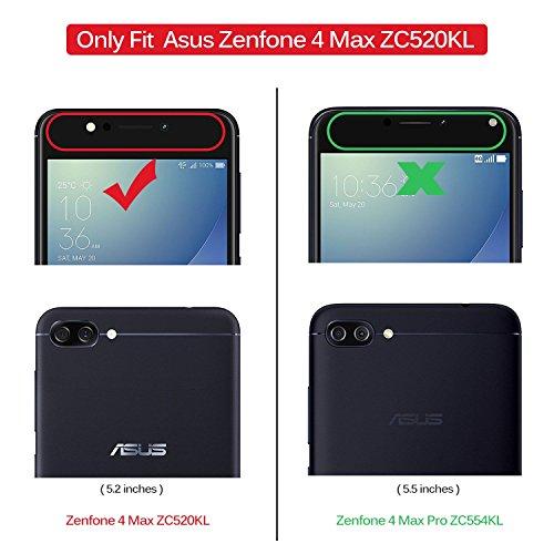 KuGi ASUS ZenFone 4 Max ZC520KL Cover, Protettiva