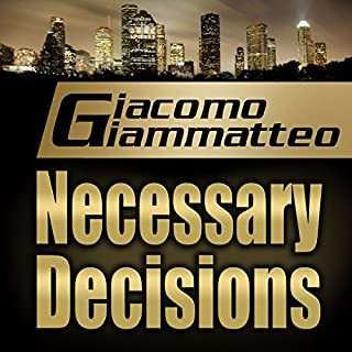Necessary Decisions audiobook cover art