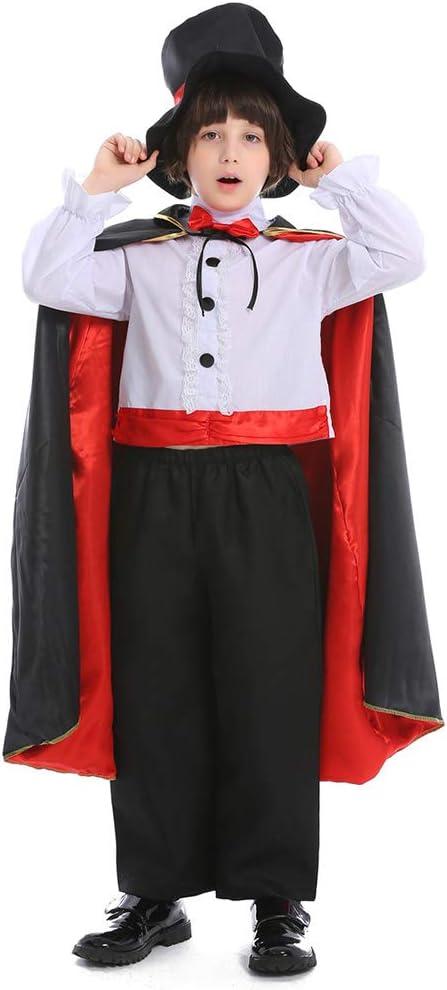 Cheap bargain Halloween New sales Children's Day Magic Magician Cosplay Costume Circus