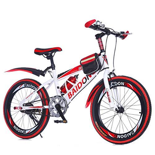 Muyu Mountainbike, 20 inch, kinderfiets voor jongens en meisjes, voor kinderen tussen 8 en 15 jaar