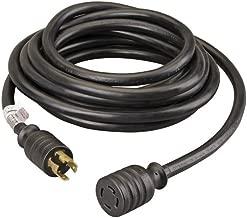 Reliance Controls PC3040 30-Amp (L14-30), 40-Foot Generator Power Cord,Black