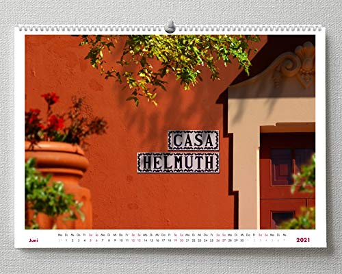 Namenskalender Helmuth, Wandkalender (DIN A3)