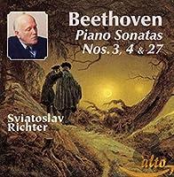 Piano Sonatas Nos. 3 4 & 27