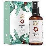 BOTTLD botanics® Vitamin B12 Mund-Spray für Kinder - Vit B12 für Kinder - 100% vegan ohne Zusätze - alle 3 natürlichen Formen: beide Aktivformen und Depot Form - laborgeprüft aus Deutschland.
