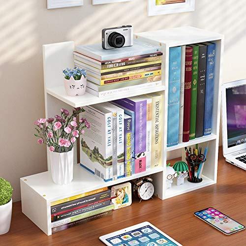 DS- Bibliothèque Bibliothèque - Petite bibliothèque sur la Table pour Les étudiants avec étagère de Bureau pour Enfants Creative Dormitory Simple Storage Shelf && (Couleur : B)