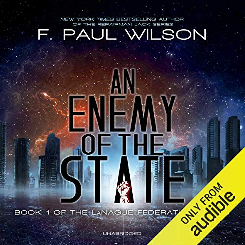 An Enemy of the State audiobook cover art