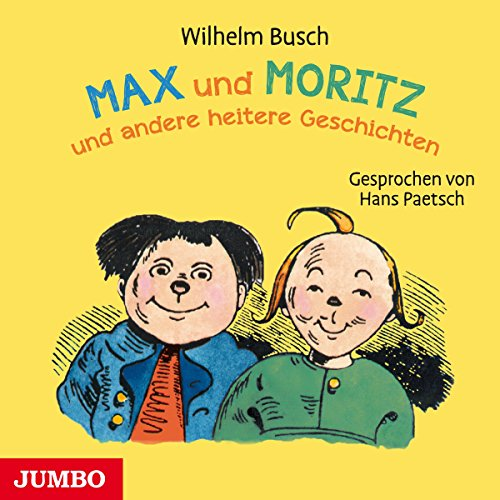 Max und Moritz und andere heitere Geschichten Titelbild
