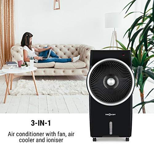 Oneconcept Kingcool Black Edition – El mejor ventilador con agua climatizador