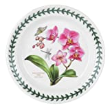 Portmeirion Exotic Botanic Garden Bread and Butter Plate, Set with 6 Assorted Motifs...