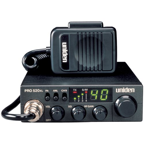 Uniden 40-Channel Compact Mobile CB Radio with PA