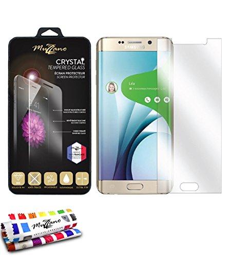Muzzano ULTRACRYSTAL vetro trasparente custodia posteriore per Samsung Galaxy S6EDGE PLUS/SM-G928T/SM-G928a con protezione ultra resistente–Alta Qualità In Vetro Temperato 9H durete. Acciaio inossidabile, antipolvere e antiurto