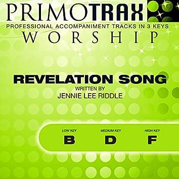 Revelation Song (Worship Primotrax) (Performance Backing Tracks) - EP
