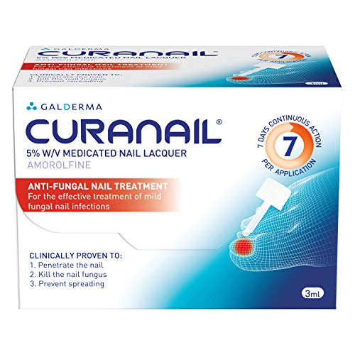 Curanail Once Weekly toenail fungus treatment