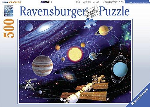 Ravensburger- Puzzle – Sistema Solare – 500 Pezzi, 14775