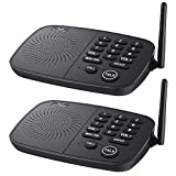 Hosmart 1/2 Mile Range 10-Channel Intercom System for Home or Office, Plug-and-Play Intercom, Easy to Use with Clear Sound, Without Yelling [2020 New Version]