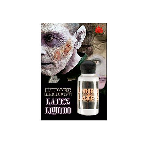 Látex Líquido (Bote 28 ml) Maquillaje FX Efectos Especiales Halloween