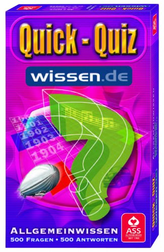 ASS Altenburger 09656 - Quick Quiz Wissen.de Allgemeinwissen