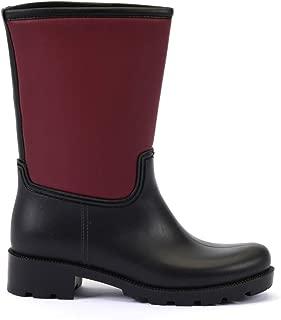 ESEM B0003 Yağmur Botu Kadın Ayakkabı Bordo