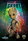 Guardians of The Galaxy - Poster - 2 - I Am Groot - Space +