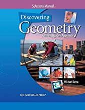 By Michael Serra - Discovering Geometry: An Investigative Approach, Solutions Manual (4th Edition) (1905-07-15) [Paperback]