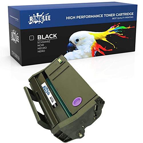 RINKLEE 407166 Cartucho de Toner Compatible para Ricoh SP100 SP112 SP100e SP100SF SP100SFe SP100SU SP100SUe SP110 SP112e SP112SF SP112SFe SP112SU SP112SUe   Alta Capacidad 1200 Páginas   Negro
