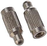 NUM'AXES Pack de 2 Electrodes Long Canifugue/Canicalm Premium pour Chien 16,5 mm