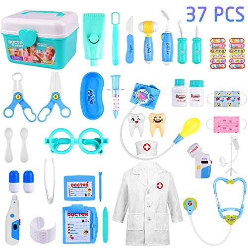 GVOO Juguetes Médicos,37 PSC Doctor Juguetes...