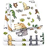 1500 Supreme Kids Bed Sheet Collection - Fun Colorful and Comfortable Boys and Girls Toddler Sheet Sets - Deep Pocket Wrinkle Free Hypoallergenic Soft and Cozy Bedding - Twin XL, Wild Animal Kingdom