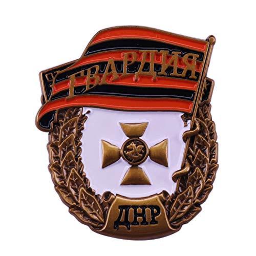 JXS Insignia de Guardia Soviética CCCP, Federación de Rusia Medalla Réplica, Insignia de Cobre, Colección de Fans Militares 4pcs