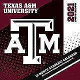 Texas A&m Aggies 2021 12x12 Team Wall Calendar