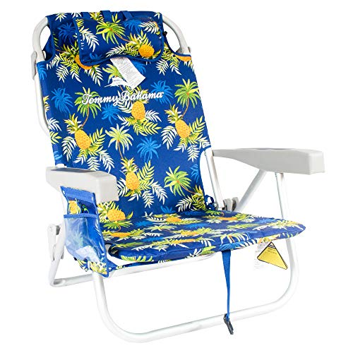 Tommy Bahama Backpack Cooler Chairs (Blue Pineapple)