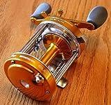 Ming Yang Gold CL60 Baitcast Fishing Reel Muskie Catfish & Saltwater