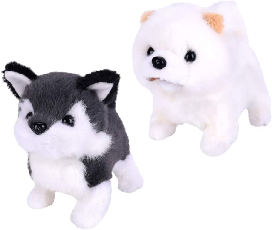 Bargain sale Excellent harayaa Plush Baby Evolutionary Toy Robot Puppies Gifts for