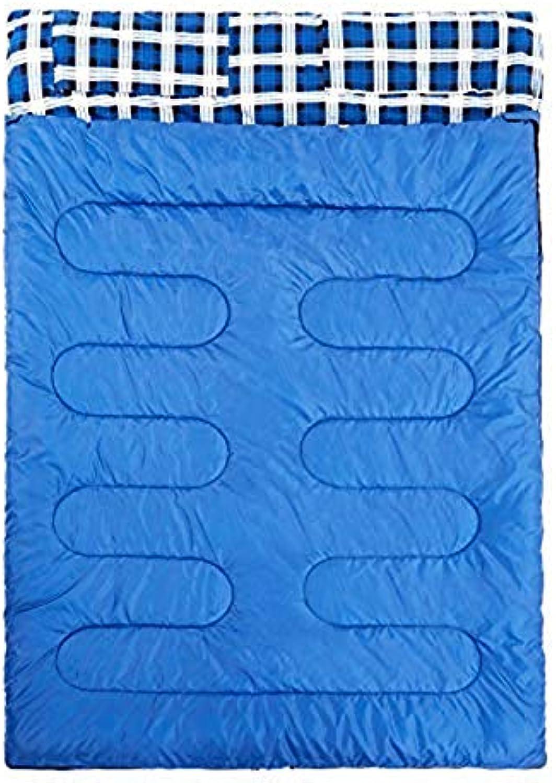 Anas Doppelschlafsack für Backpacking, Camping oder Wandern. Kaltes Wetter 2 Personen Wasserdichter Schlafsack für Erwachsene oder Jugendliche. Zug, Zelt oder Schlafsack, Leichtgewicht B07PNTFKSJ  Ab dem neuesten Modell