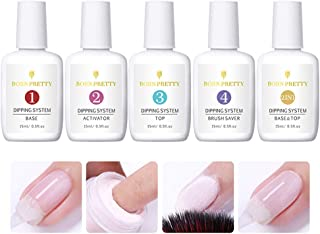 BORN PRETTY 15ml Dipping Nail Powder System Liquid Clear Nail Art Tools Without UV Lamp Needed