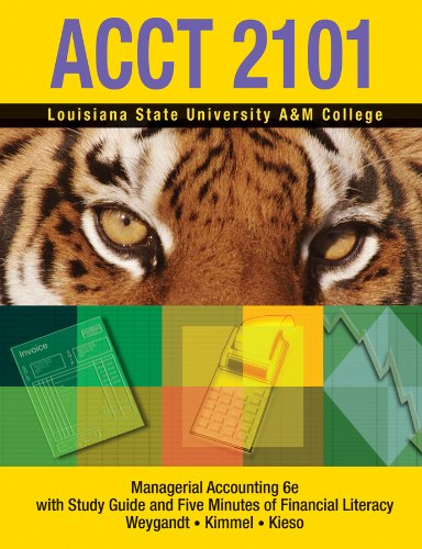 Managerial Accounting 6e
