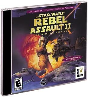 Star Wars: Rebel Assault II -- The Hidden Empire (Jewel Case)