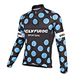 Uglyfrog Hombre Cycling Jersey Maillot Ciclismo Manga Larga Camiseta de Ciclistas Triatlón Ropa Ciclismo