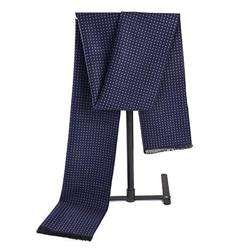 Dhmm123 Bufandas cálidas Bufanda de Hombre Pañuelos Largos para Hombre Otoño Invierno Ligero (Color : Gray, Size : OneSize)