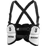 Brine Uprising Lacrosse Rib Pad (Small, White)