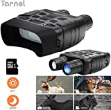 "Tarnel Night Vision Binoculars HD Digital Infrared Hunting Binocular Scope 1080P Picture&720P Video and 2.31"" LCD Screen IR Camera in 300m for Wildlife"